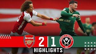 Arsenal 2-1 Sheffield United | Premier League highlights | Saka & Pepe goals down Blades in EPL.