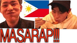 I WENT TO PHILIPPINES RESTAURANT IN JAPAN!!!!!!!!!!!!!!!!!!!