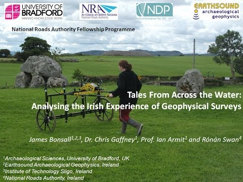 Bonsall et al at #CAGS2014: Analysing the Irish Experience of Geophysical Surveys