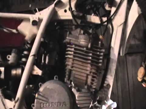 Honda Xr250 Project How to change the pulse generator pick up coil .....Oil Sludge  problems