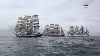 Гонка крупнейших российских парусников завершилась в Атлантике