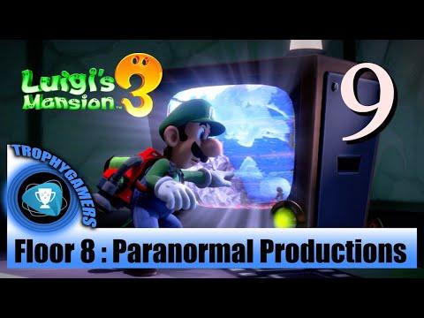 Luigi's Mansion 3 – Floor 8: Paranormal Productions - Find Polterkitty Cat - Full Walkthrough Part 9
