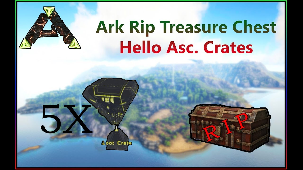 Ark Ragnarok Acscendent Crates Location- Replacement of Treasure Chests!
