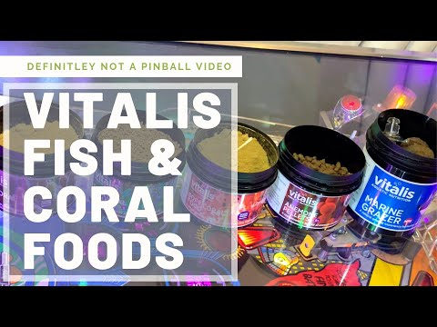 Vitalis Coral And Fish Foods
