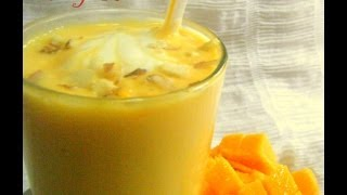 Mango Lassi (mango Yogurt Smoothie) Recipe