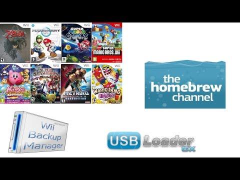 [TUTO] : Installer Homebrew channel et USB Loader GX sur une wii 4 3