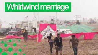 Tropical Storm Destroys Couple's Dream Wedding