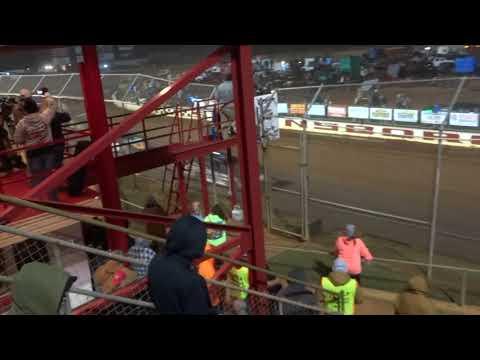 Swainsboro Raceway Turkey 100 Start of Race