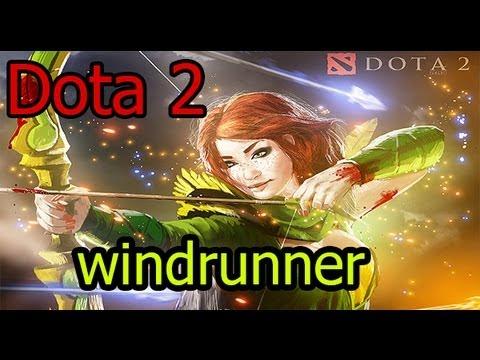 видео: dota 2 гайд windrunner