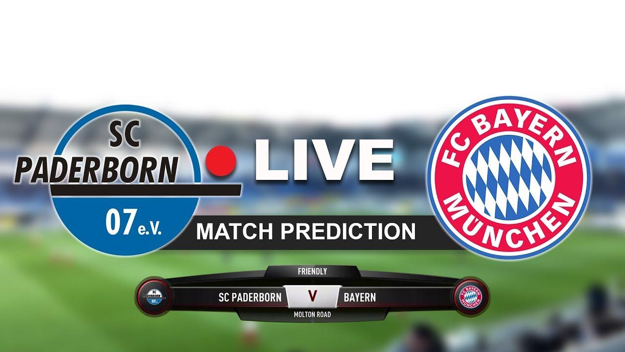 Bayern Paderborn Live