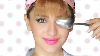 بالفيديو.. تعلمي رسمة عيون مارلين مونرو