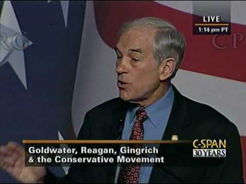Rep. Ron Paul Speech at CPAC