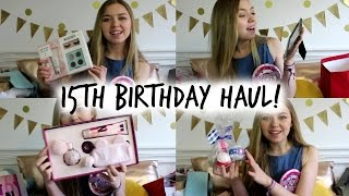 One of Simply Emmie's most viewed videos: What I got for my 15TH Birthday!//SimplyEmmie