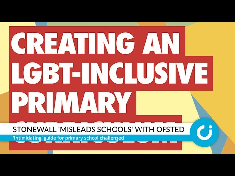 Stonewall 'intimidates Schools' With Ofsted
