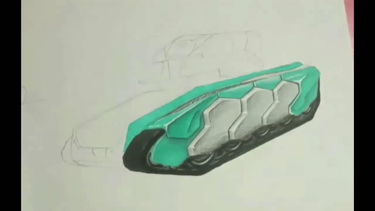 Tanki Online Drawing - YouTube