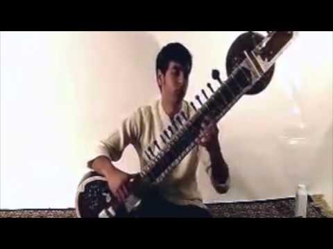 Sanjay Rikhi Ram Grand Pro Tun Sitar by Musician's Mall
