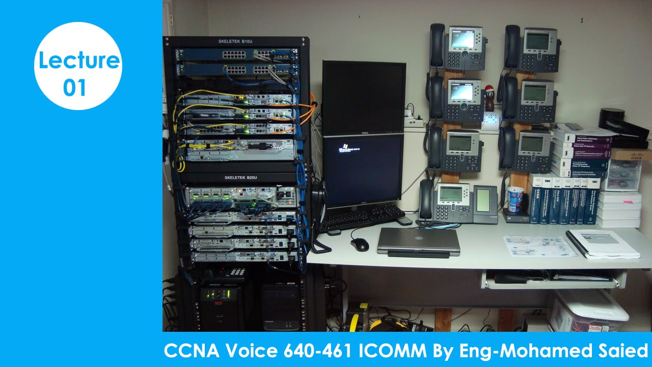 CCNA Voice 640 461 ICOMM By Eng Mohamed Saied | Arabic