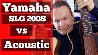 Yamaha SLG200S Silent Guitar vs Maton and Cort Acoustic Guitars