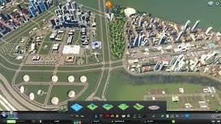 Cities Skylines - Dzielnica Zawady Akademik ☠ #14