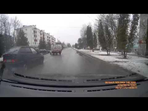 Авария Зеленодольск ул Ленина 12 11 2015г
