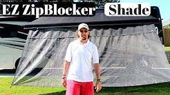 EZ Zip Blocker RV Awning Shade