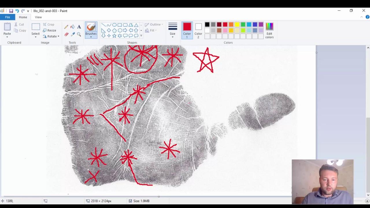Хиромантия. Звёзды и снежинки на ладони, знаки на руках