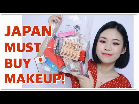 MUST BUY MAKEUP IN JAPAN + JAPAN MAKEUP HAUL!! bye money.... - YouTube
