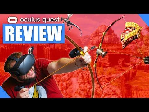 Elven Assassin VR Oculus Quest Review - YouTube