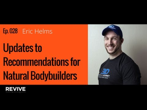 028: Eric Helms - Updates to Training & Nutrition Recommendations for Natural Bodybuilders