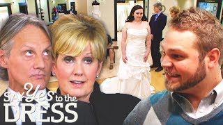 Opinionated Groom And Mother Of The Bride Have A Power Struggle! | Say Yes To The Dress Atlanta