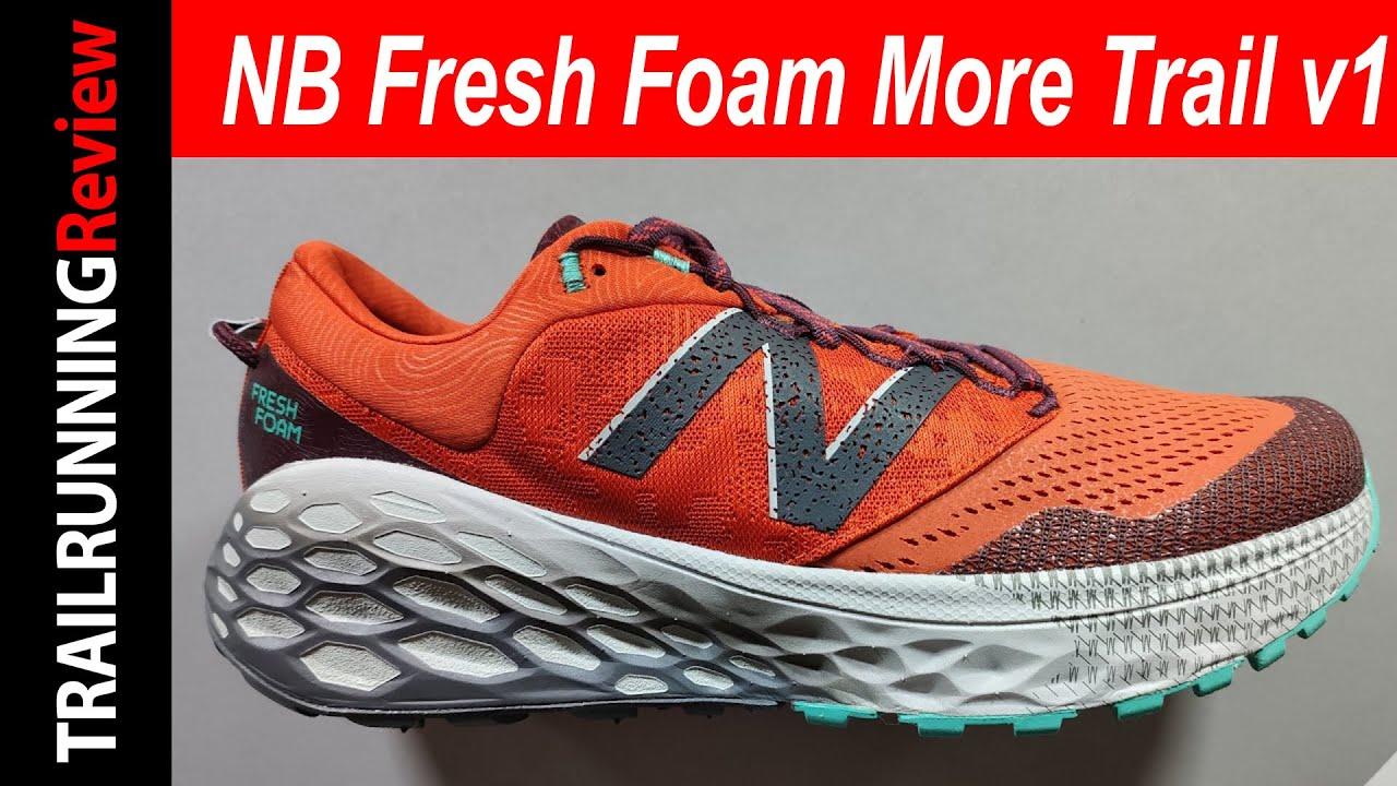 New Balance Fresh Foam More Trail v1 Preview - Máxima amortiguación