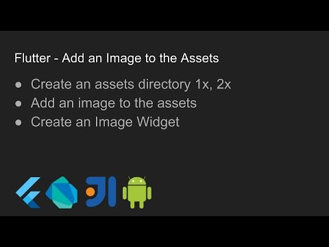 Flutter - Add an Image to the Assets