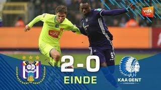 🎬 Anderlecht - KAA GENT: 2-0