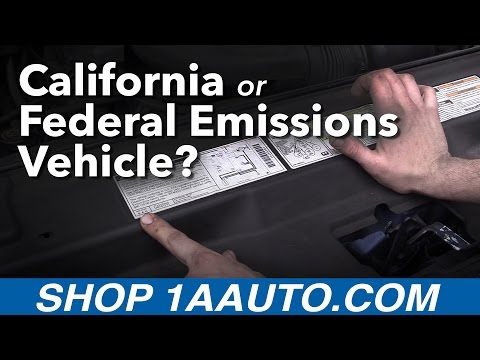 Is my Car a California or Federal Emissions Vehicle?