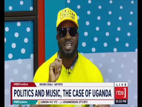 NBS FRONTLINE 3RD JAN 2019 PART 1A : POLITICS AND MUSIC THE CASE OF UGANDA