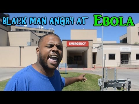 Black Man Angry AT EBOLA!!!! @DCIGS - YouTube