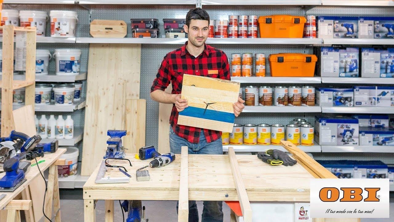 Come realizzare un orologio con materiali di riciclo obi italia