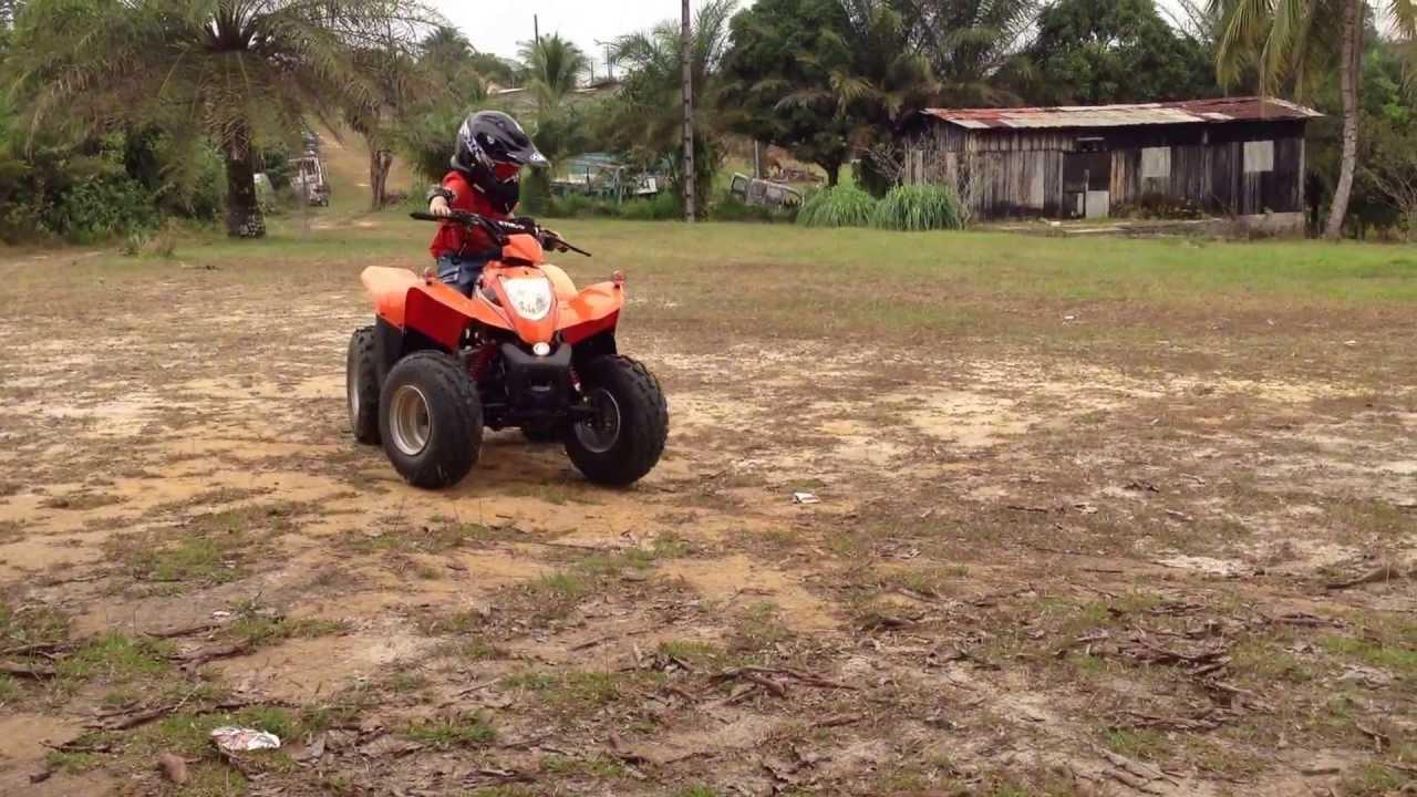 quad kymco maxxer 90