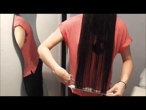 comment se couper les cheveux tout seul how to cut yo doovi. Black Bedroom Furniture Sets. Home Design Ideas