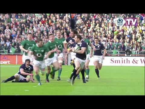 Unrivalled Moments | Scotland tries against Ireland
