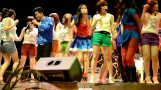 Cherrybelle - Baby baby in collaboration with 5 Bidadari & Max5   perform @ Lapiazza  20110710 Mp3