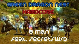 Green Dragon Nest Hardcore 8 Man w/ SecretSwrd (Gladiator) - Dragon Nest SEA - Level 60
