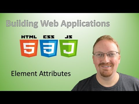 5. Learn Web Development From Scratch: Element Attributes | HTML For Beginners 🌐