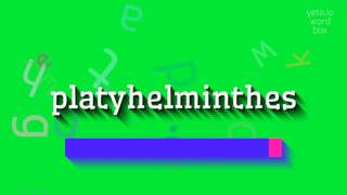 Tulajdonságok listája platyhelminthes, Platyhelminthes flatworms tulajdonságai