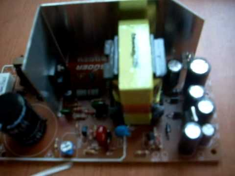 TV repair using a Universal Power Supply - YouTube