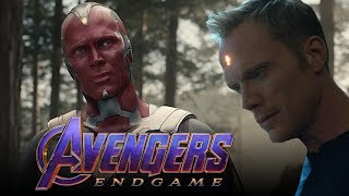 Will Vision Stop Thanos in Avengers: Endgame? - One Shot