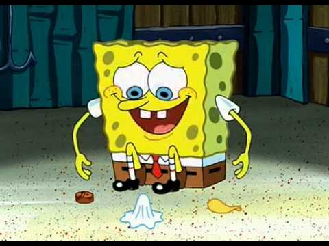 I Have All The Friends I Need Right Here - YouTubeSpongebob Chip Used Napkin And Penny