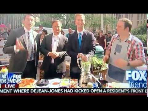 Vision Grills on Fox & Friends