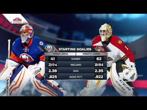 New York Islanders @ Florida Panthers. Round 1 Game 5