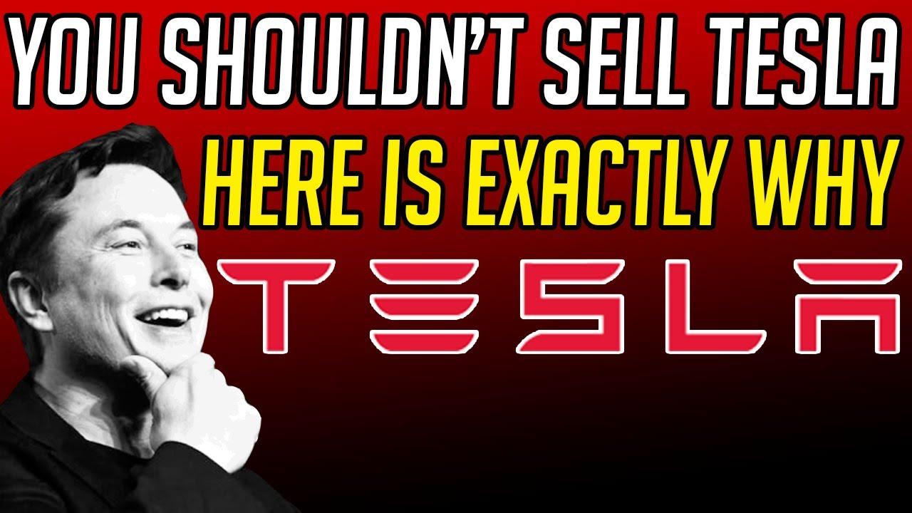WHY YOU SHOULD NEVER SELL TESLA STOCK. TSLA STOCK ANALYSIS